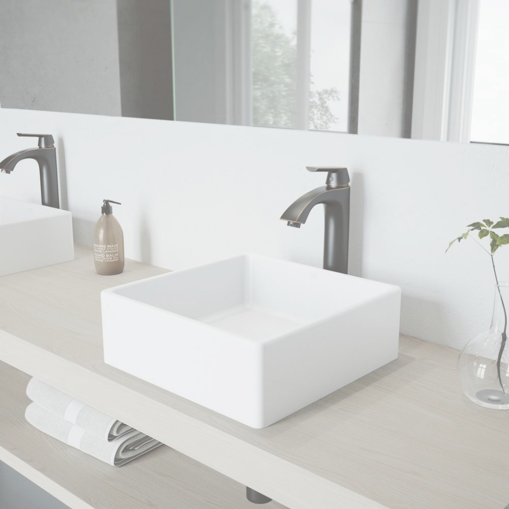 Beautiful Vigo Dianthus Matte Stone Vessel Sink And Linus Bathroom Vessel with regard to Bathroom Vessel Sinks