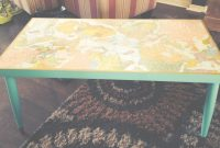 Beautiful Vintage Coffee Table With Decoupage Maps | Diy- Home | Pinterest intended for Review Decoupage Coffee Table