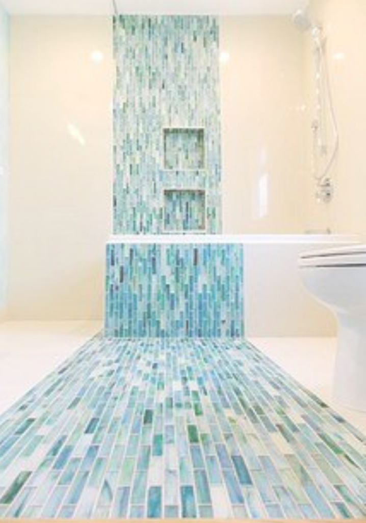 Beautiful Wholesale Mosaic Naples, Florida - Floors In Style ® for Blue Bathroom Mosaic Tiles