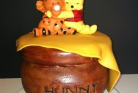 Beautiful Winnie The Pooh Baby Shower Cake And Cupcakes – Cakecentral throughout Winnie The Pooh Baby Shower Cakes