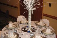 Beautiful Winter Wonderland Table Decor | Centerpieces & Table Decor pertaining to Winter Wonderland Party Decor