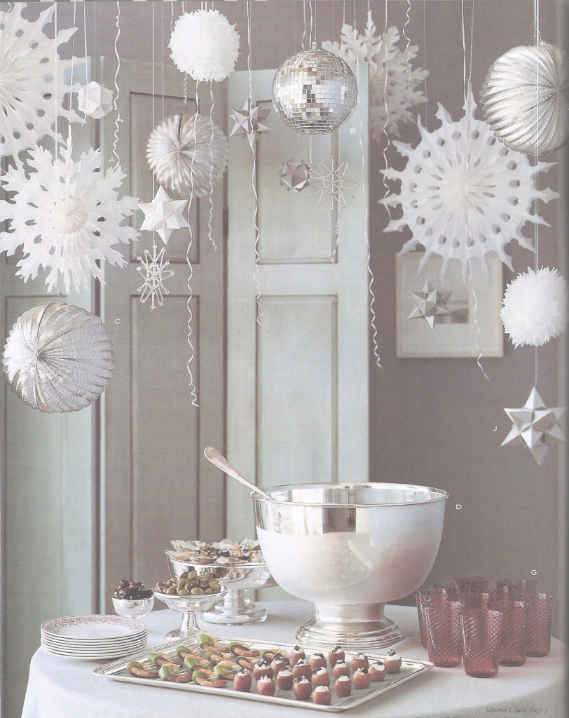 Beautiful Winter Wonderland, Take Down The Snow Flakes And Add Some White with Winter Wonderland Table Decorations