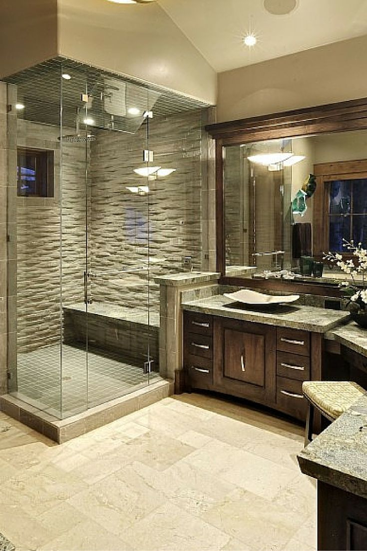 Cool 30 Bathrooms With L-Shaped Vanities | Pinterest | Master Bath Layout in Beautiful Master Bathroom Layouts