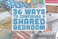 Cool 36 Ways To Configure A Shared Bedroom | Pinterest | Bunk Bed intended for Small Shared Bedroom
