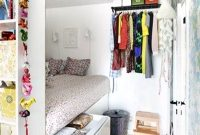 Cool 8 Great Small Bedroom Storage Hacks in Inspirational Small Bedroom Hacks