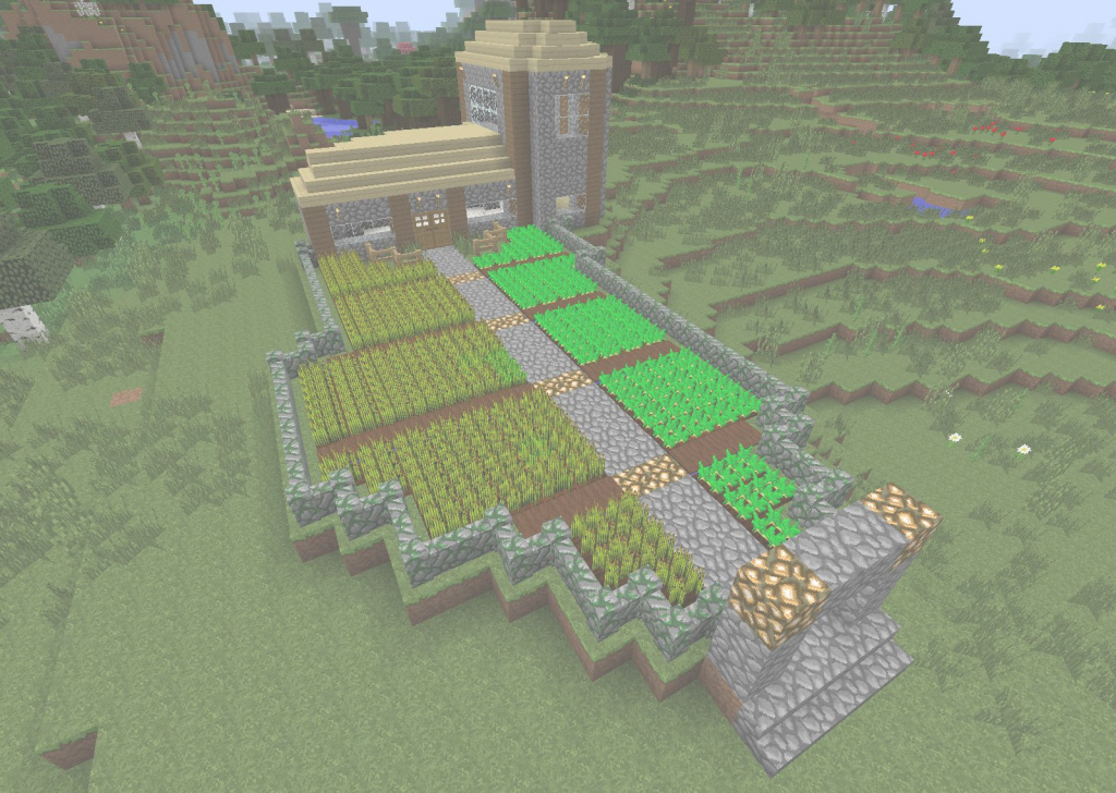 Cool A Little Farmhouse I Built : Minecraft regarding Review Minecraft Farmhouse Design