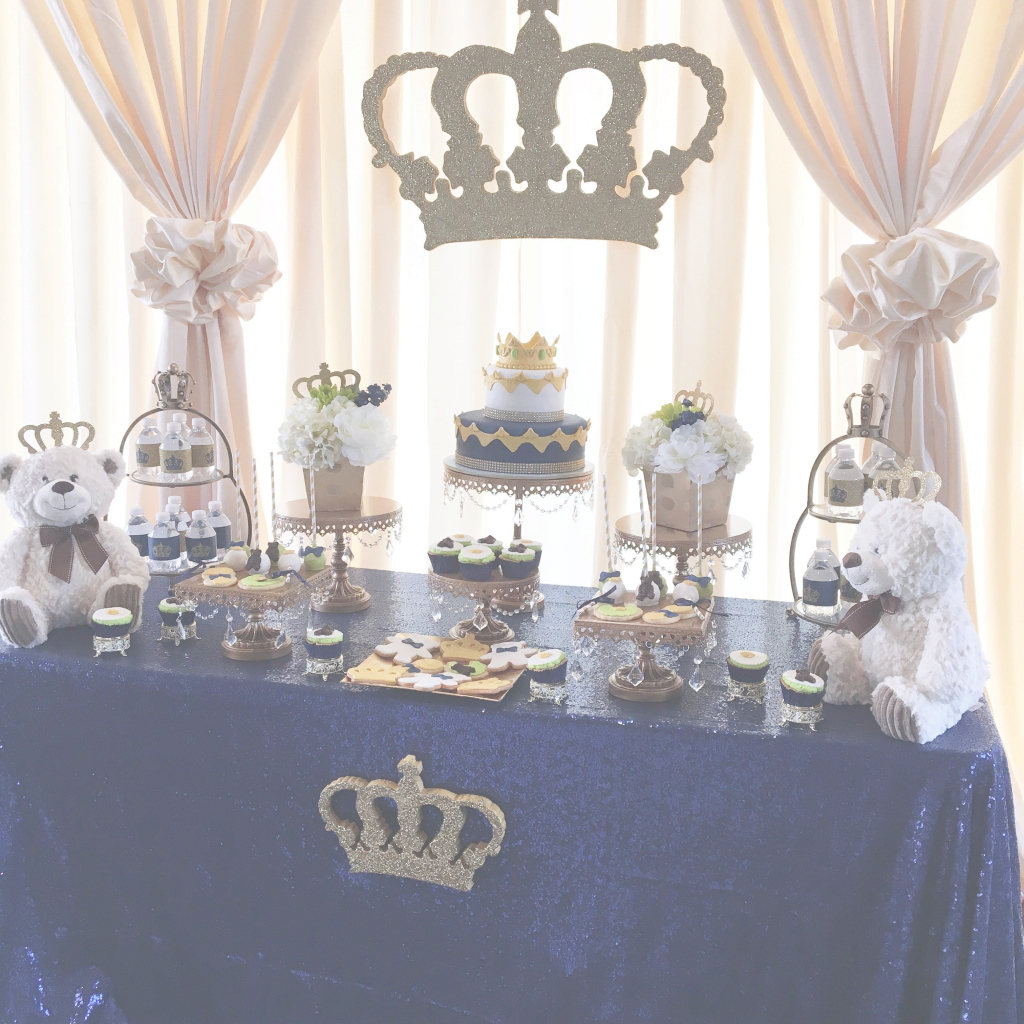 Cool A Royal, Prince Or King Themed Baby Shower | Party Time | Pinterest regarding Prince Themed Baby Shower Decorations