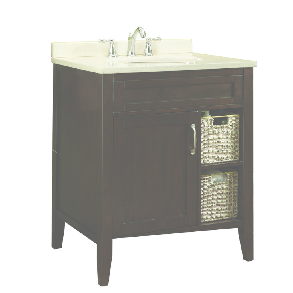 Cool Allen Roth Wrest Park Cream Bathroom Vanity With Modern Bathroom inside Allen And Roth Bathroom Vanities