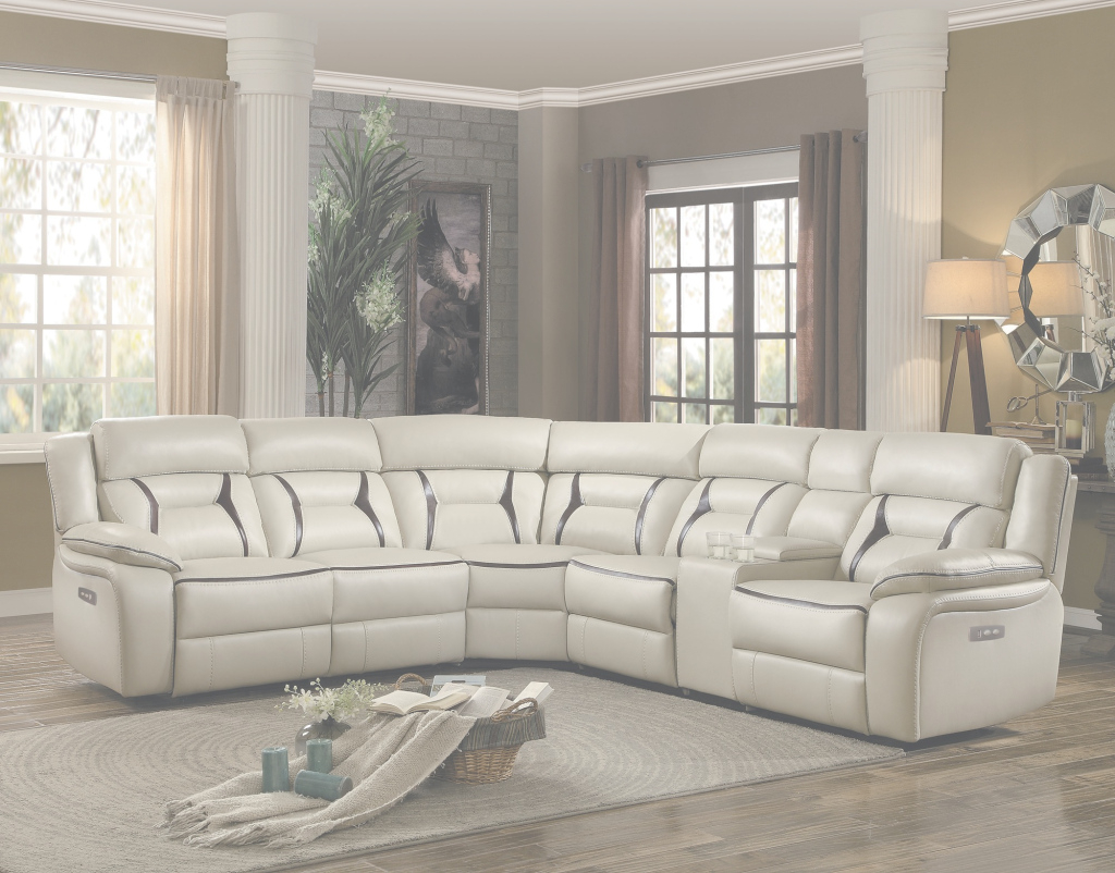 Cool Amite Beige Living Room Sectional 6Pc Set For $1,799.94 - Furnitureusa for Elegant Beige Living Room Set