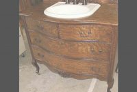 Cool Antique Dresser Bathroom Vanity – Youtube intended for Dresser Bathroom Vanity