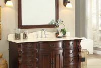 Cool Antique Style Bathroom Vanities Antique Furniture 54 Double Sink within Best of Furniture Style Bathroom Vanities