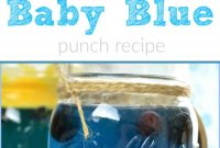 Cool Baby Blue Hawaiian Punch Recipe · The Typical Mom inside Punch Recipes For Baby Shower
