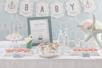 Cool Baby On Board Nautical Baby Shower – Play.party.plan for Unique Nautical Theme Baby Shower Decorations