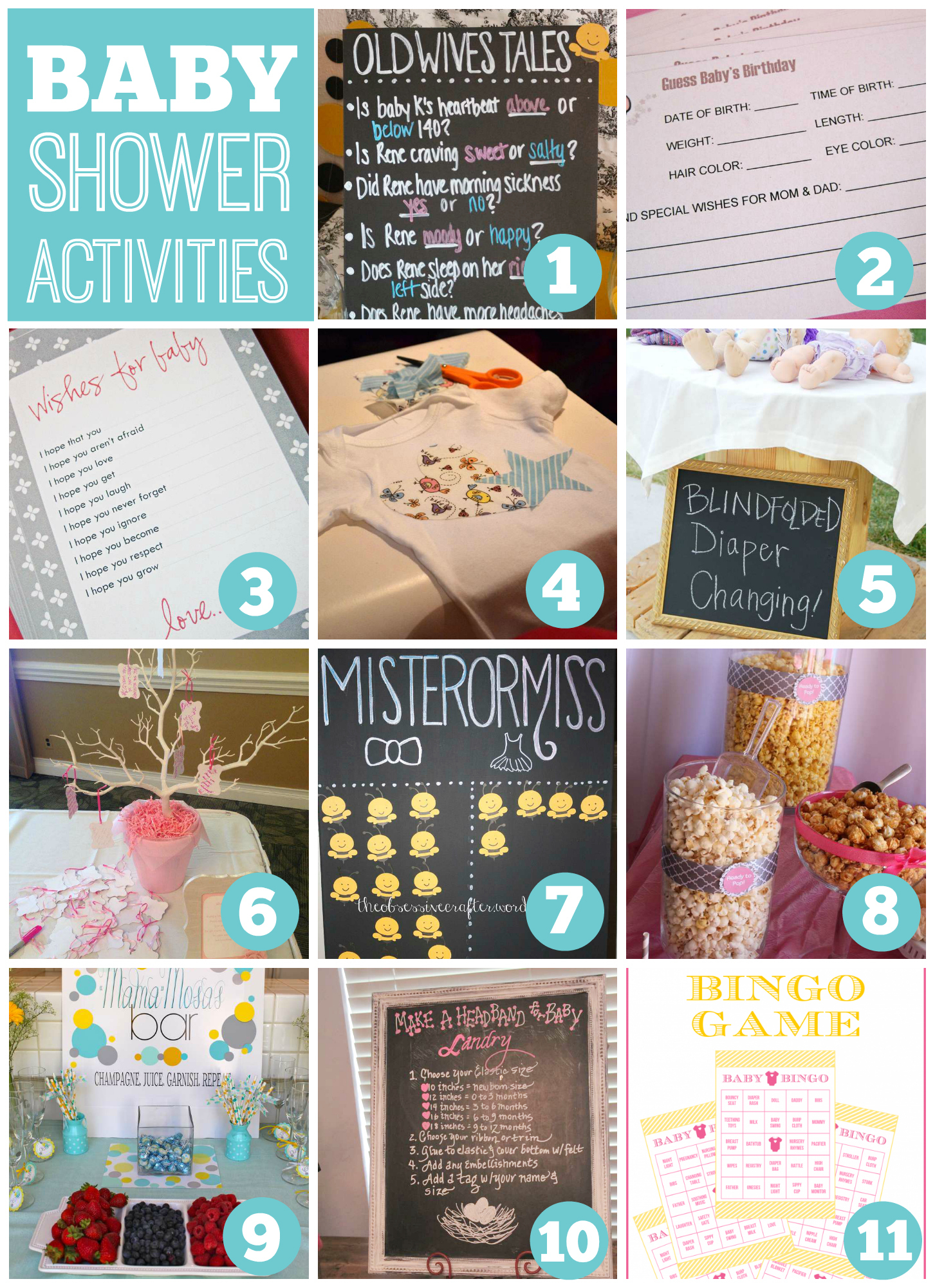Cool Baby Shower Activities | Catch My Party in Baby Shower Activities