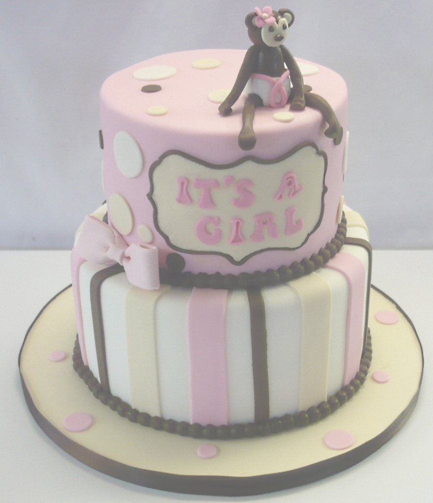 Cool Baby Shower Cakes: Baby Shower Cake Ideas Monkey within Baby Shower Monkey Cakes