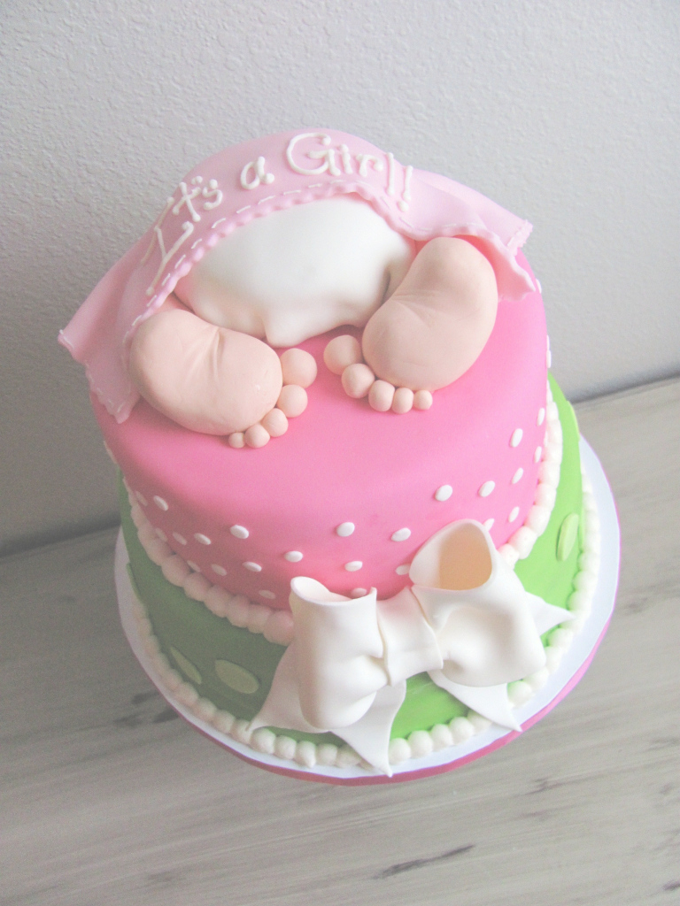 Cool Baby Shower Cakes For Girlpartybabyshower | Partybabyshower | Ideas pertaining to Baby Girl Shower Cake Ideas