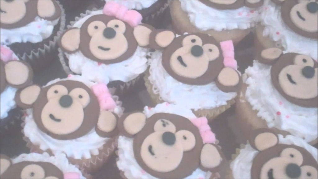 Cool Baby Shower Monkey Cake - Youtube within Baby Shower Monkey Cakes