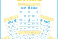 Cool Baby Shower Printables For Your Party | Catch My Party intended for High Quality Free Printable Baby Shower