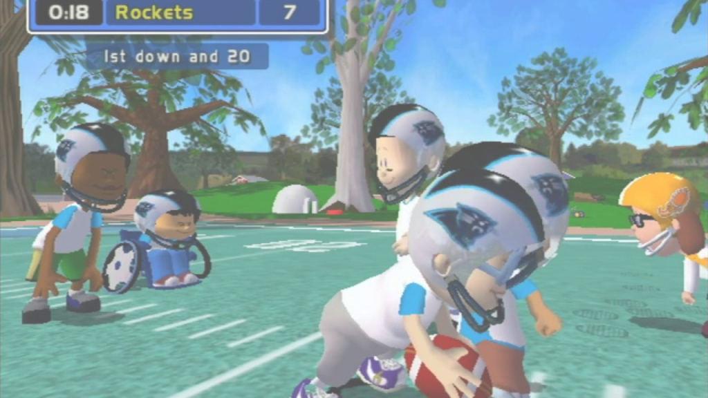 Cool Backyard Football (Gamecube) Gameplay - Youtube within Set Backyard Football Game