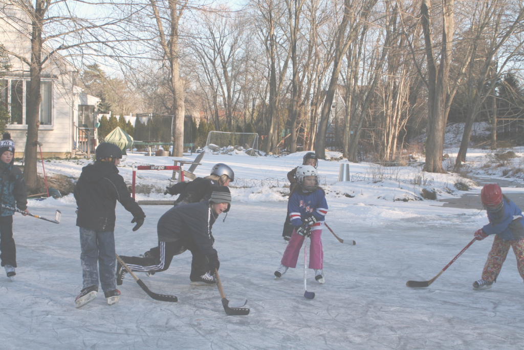 Cool Backyard Hockey | Westportnow, Westport, Ct for Luxury Backyard Hockey