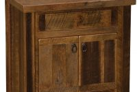 "Cool Barnwood 30"" Vanity (Sink Center): Barnwood Or Hickory Legs regarding Barnwood Bathroom Vanity"
