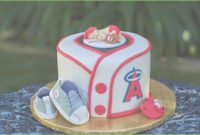 Cool Baseball Baby Shower Cake Beautiful Sports All Star Little Mvp Baby inside Fresh Baseball Baby Shower Cakes