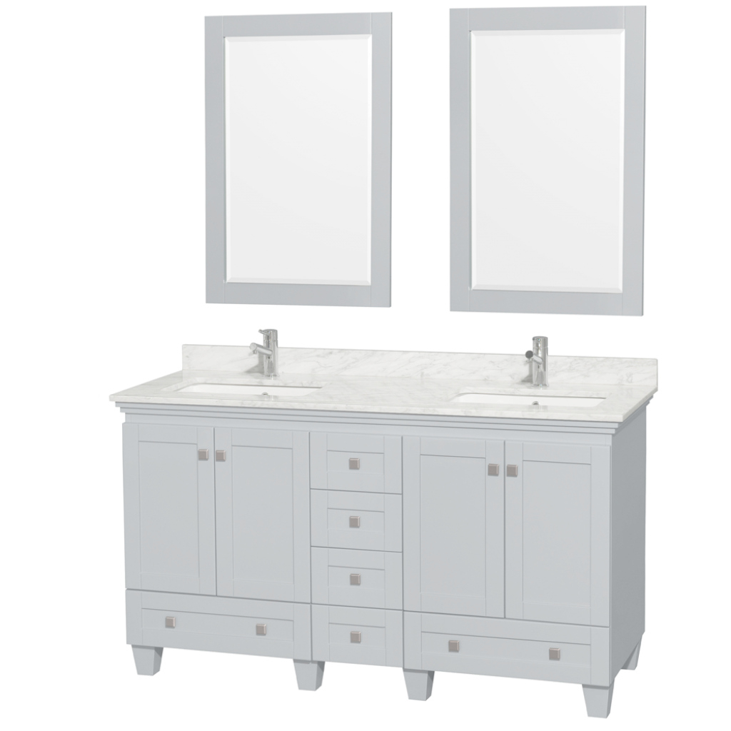 Cool Bathroom: 60 Inch Vanity Double Sink | 60 In Vanity Double Sink throughout 65 Inch Bathroom Vanity