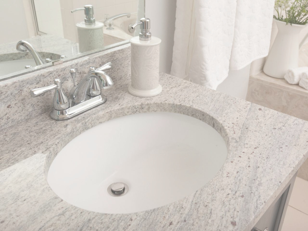 Cool Bathroom Granite Countertop Costs | Hgtv pertaining to Bathroom Sinks And Countertops