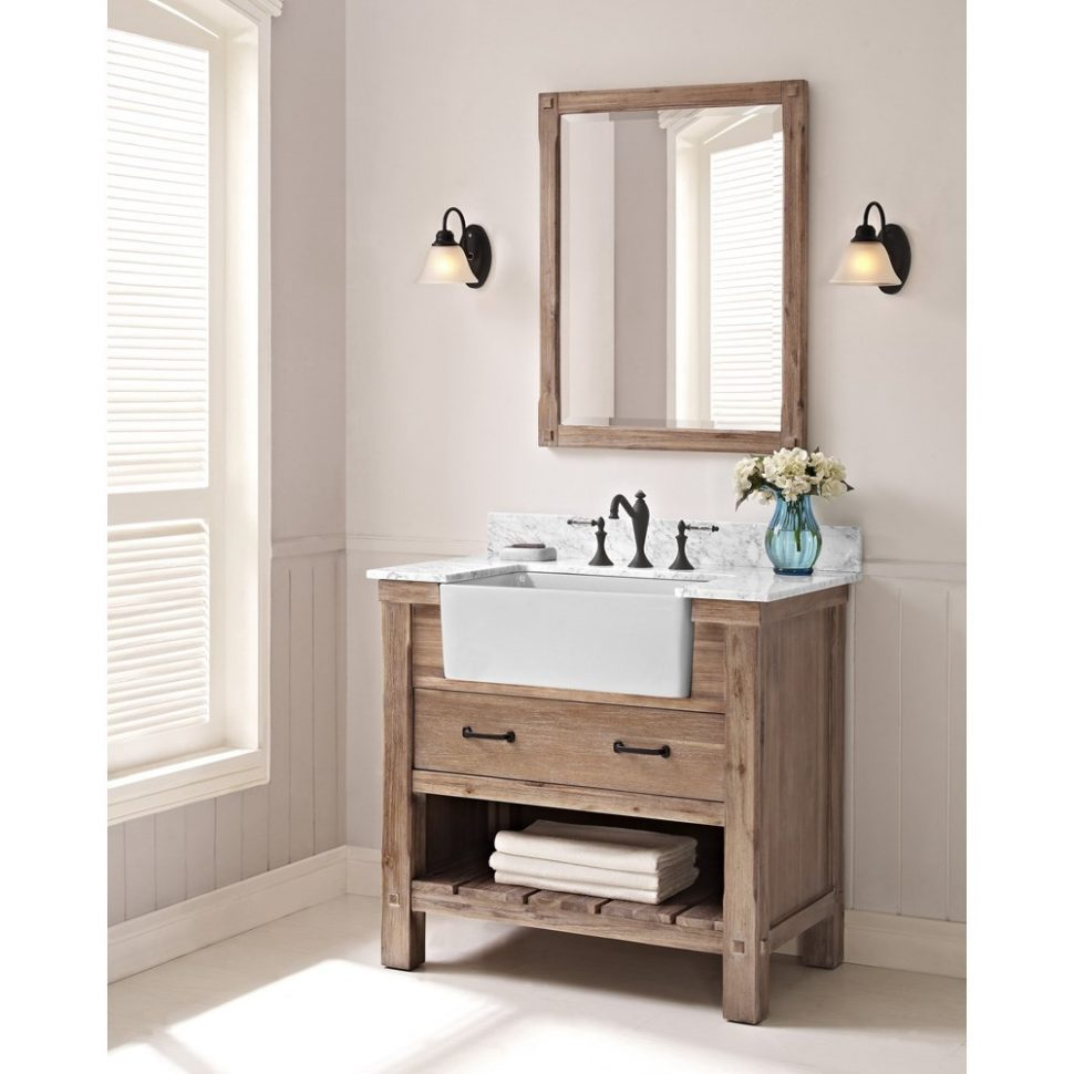 Cool Bathroom Sink : Farmhouse Bathroom Sink Farmhouse Bathroom Vanity pertaining to Bathroom Farm Sink Vanity
