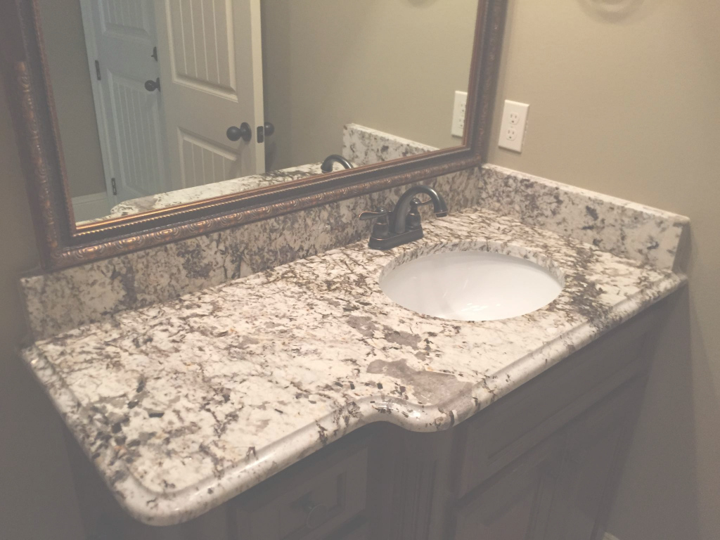 Cool Bathroom Vanity Granite Top Intended For Why Choose A Countertop in Bathroom Vanity Countertops