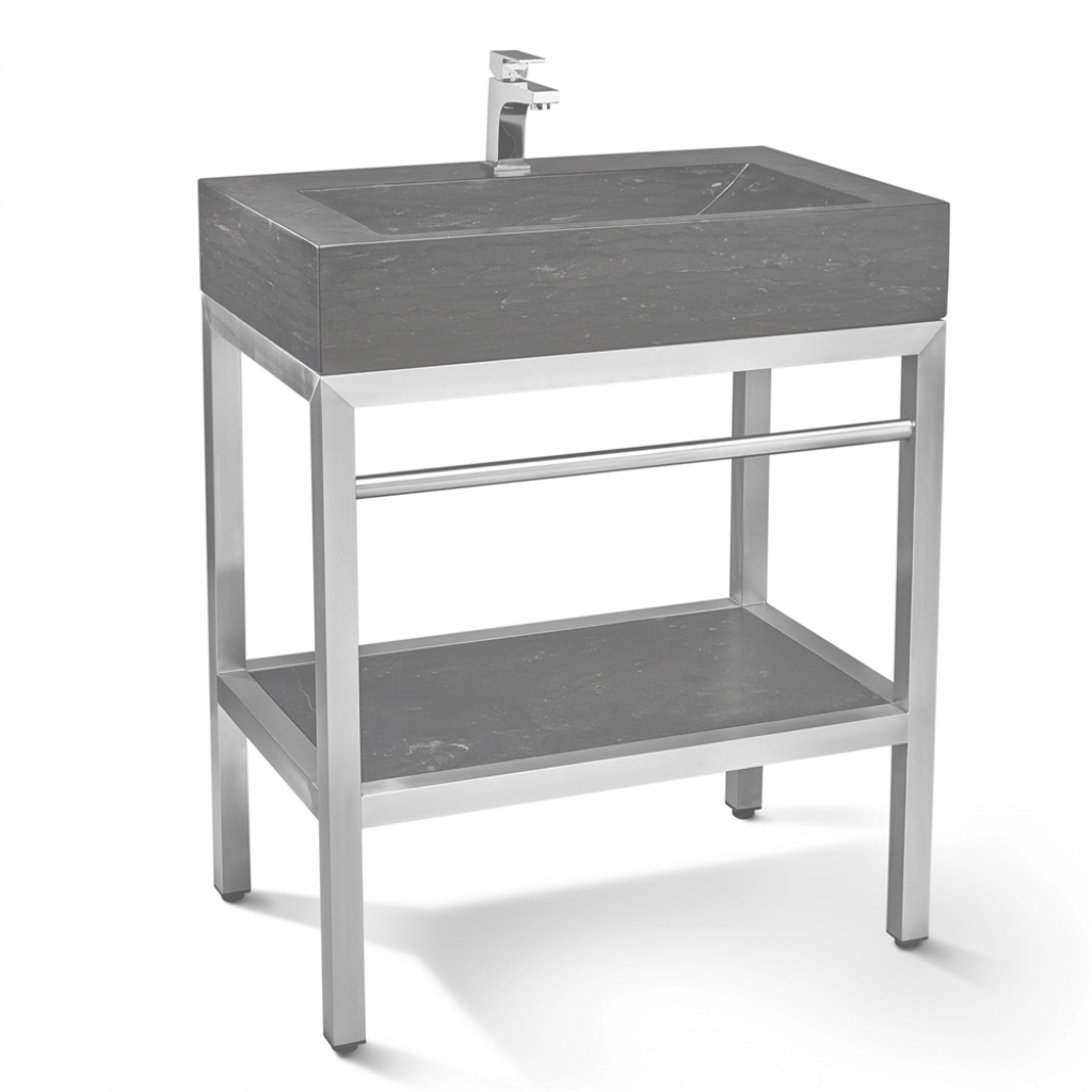 Cool Bathroom Vanity Legs Artasgift Com Metal Cabinet Kohler Console Sink within Set Metal Bathroom Vanity