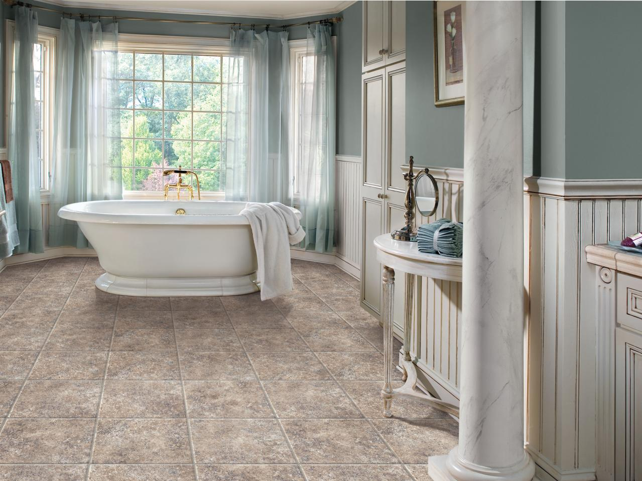 Cool Bathroom : Vinyl Flooring For Bathroom Ideas Bathroom Vinyl Flooring with regard to Flooring For Bathrooms