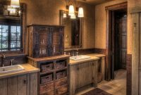 Cool Bathroom Western Bathroom Vanities 7 Barnwood Bathroom Vanity Buy throughout Luxury Barnwood Bathroom Vanity