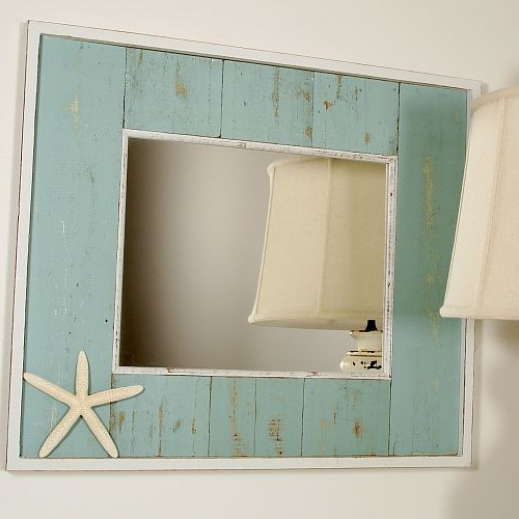 Cool Beach Themed Bathroom Mirrors Genersys - Avaz International regarding Beach Themed Bathroom Mirrors