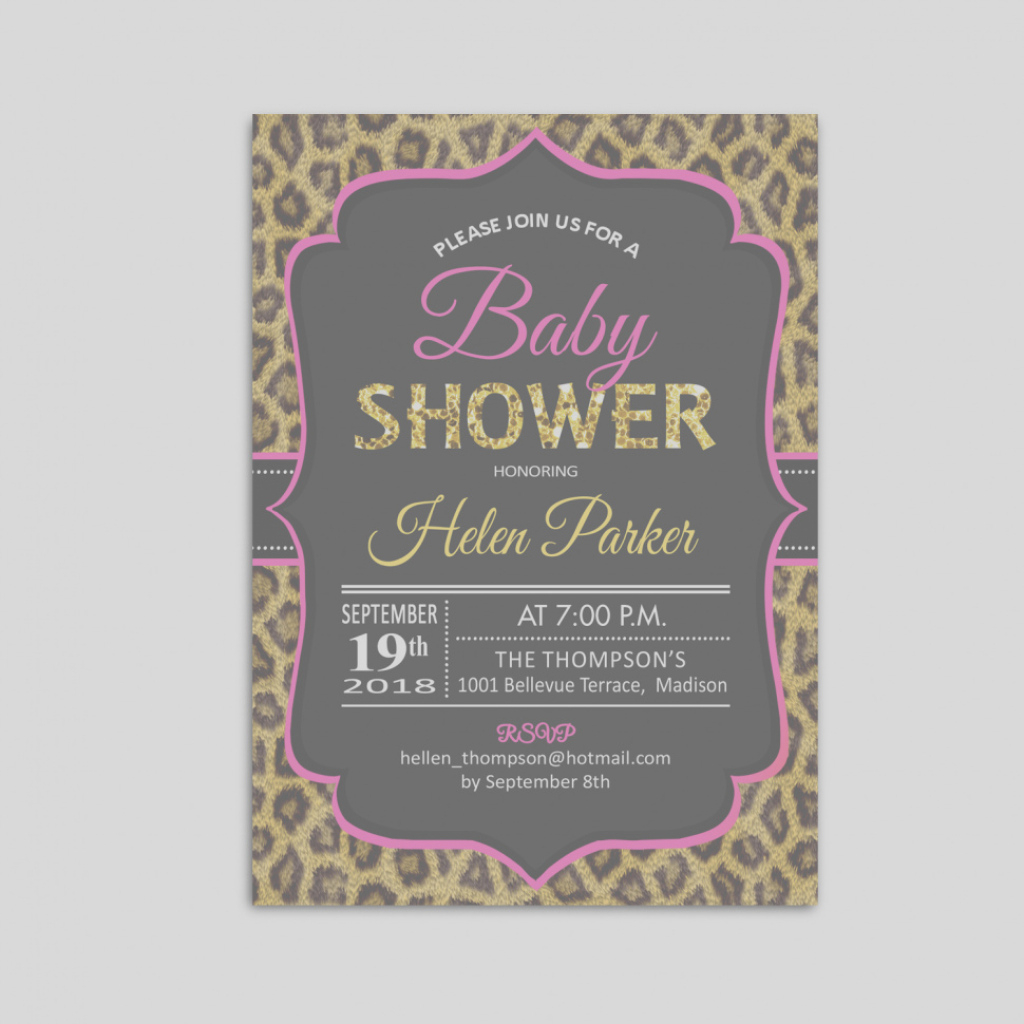 Cool Beautiful Of Tiny Prints Baby Shower Invites Imposing Cheetah Print within Best of Tiny Prints Baby Shower
