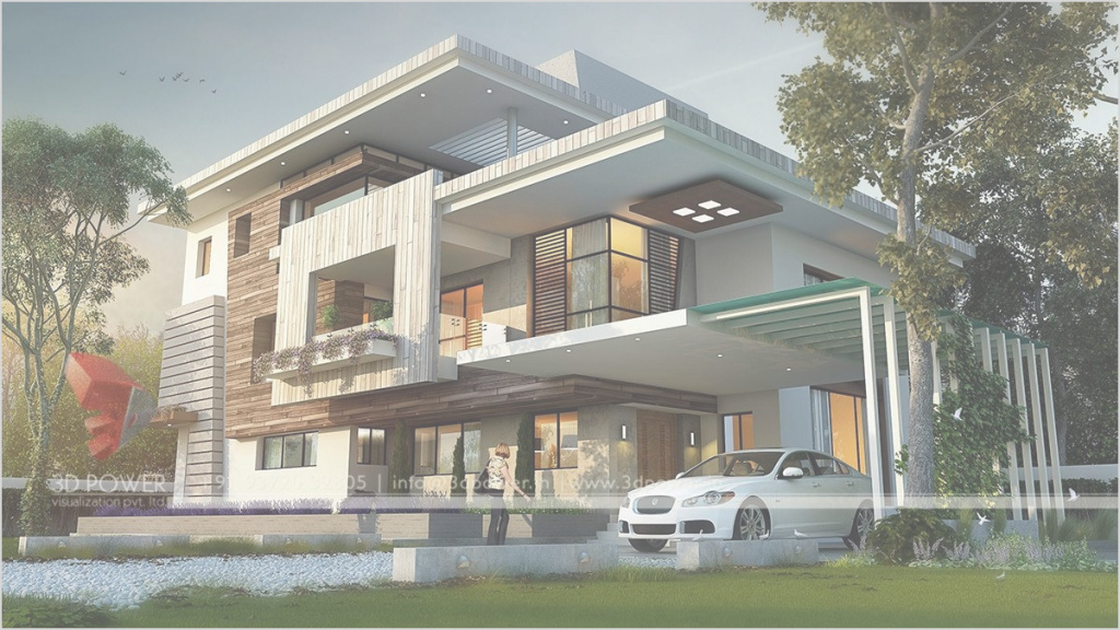 Cool Best Modern Bungalow House With Attic For Simple Design Inspiration inside Modern Bungalow