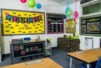 Cool Chalkboard Brights « Classroom Decorations | Teacher Created Resources inside Classroom Decorating Themes