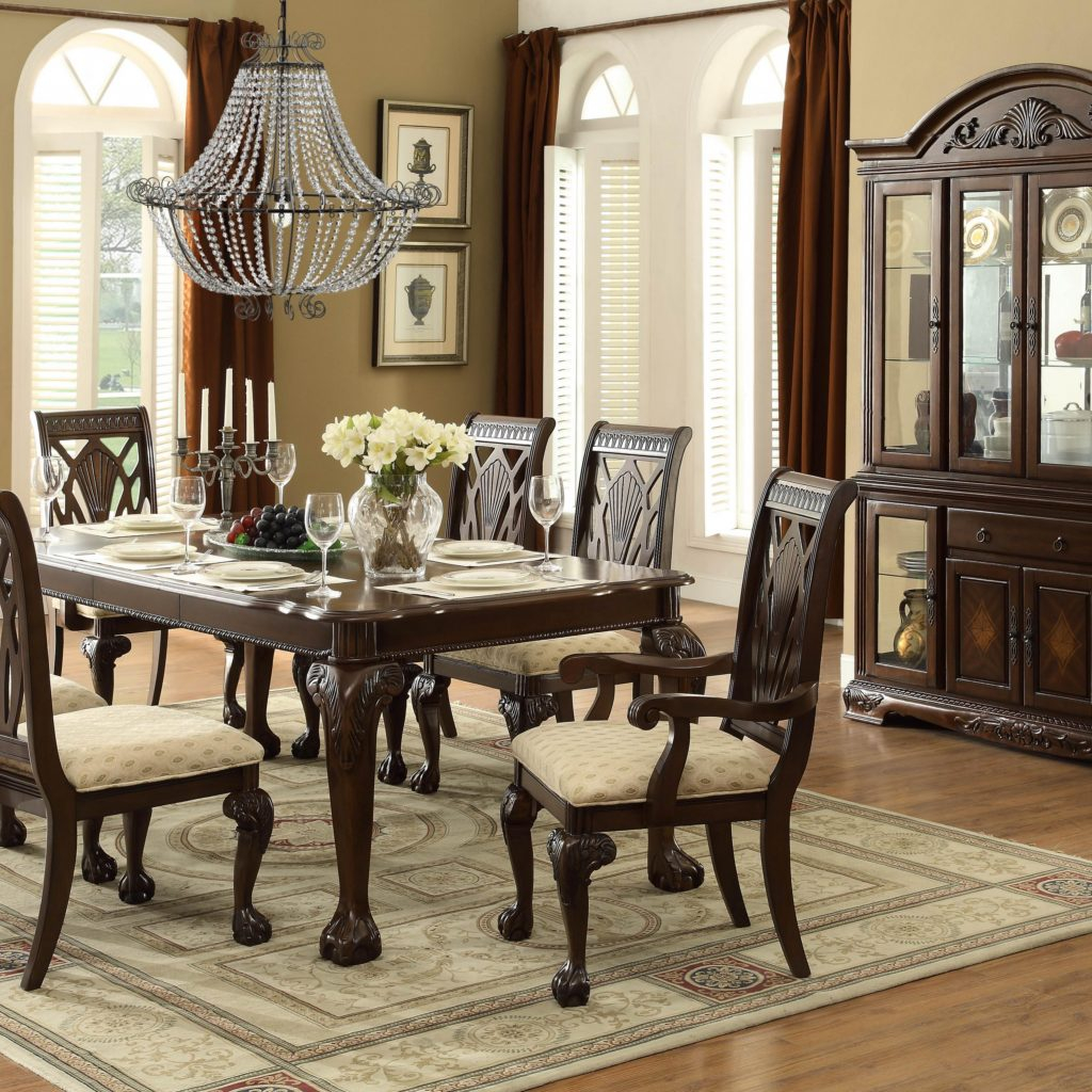 Cool Cherry Dining Room Sets Homelegance Norwich Piece Dining Room Set In regarding The Dining Rooms Norwich