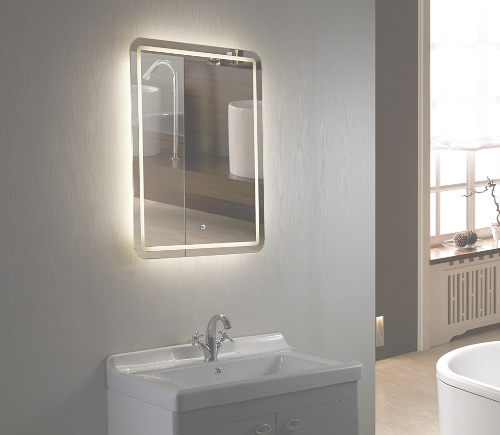 Cool Clapton Illuminated Mirror - Okane Plumbing And Electrics Ltd for Bathroom Sink Mirror