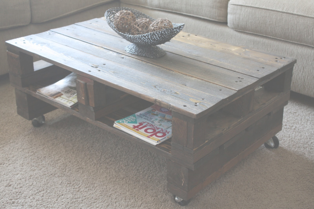 Cool Coffee Table 20 Diy Pallet Coffee Table Ideas 101 Plans Stacked With intended for Lovely Pallet Coffee Table Plans