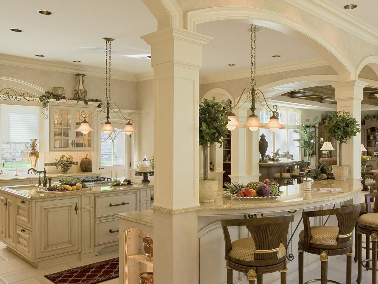 Cool Colonial Kitchens | Hgtv in Beautiful Colonial Kitchen Design