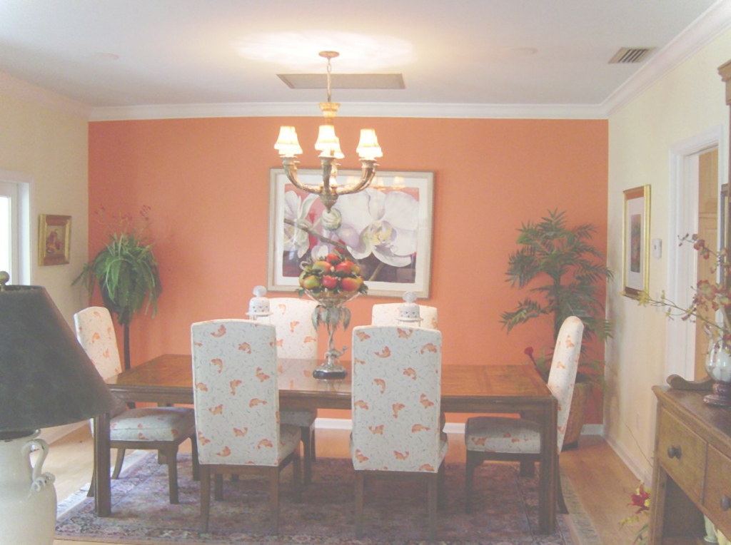 Cool Color Dining Room - Kemist.orbitalshow.co within Awesome Orange Dining Room