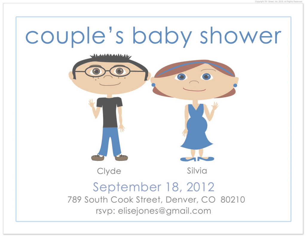 Cool Colors : Free Baby Shower Invitations For Coed With Awesome Brown intended for Funny Baby Shower Quotes