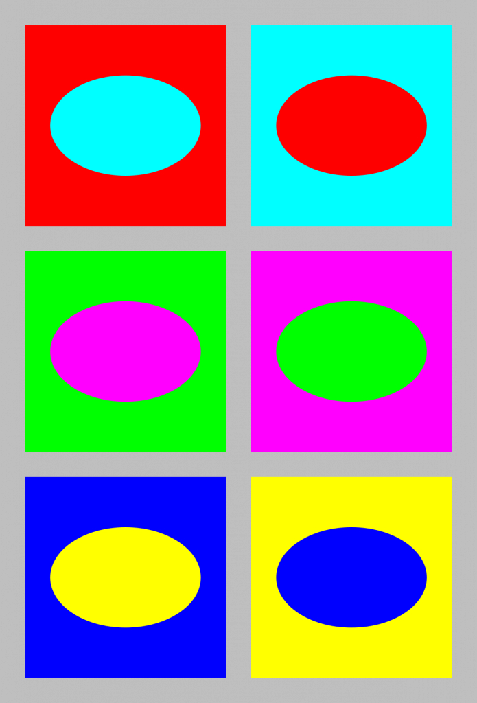 Cool Complementary Colors - Wikipedia with Complementary Colors List