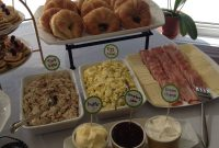 Cool Croissant Bar!! Great Baby Shower Brunch Or Lunch Idea. Could Do Egg in Luxury Baby Shower Brunch Menu
