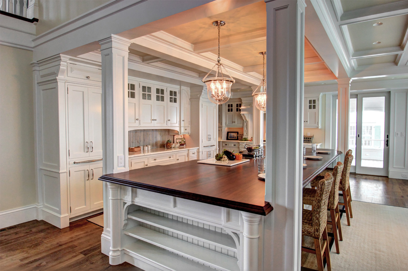 Cool Custom Colonial Kitchen And Pleasing Colonial Kitchen - Home Design with Beautiful Colonial Kitchen Design