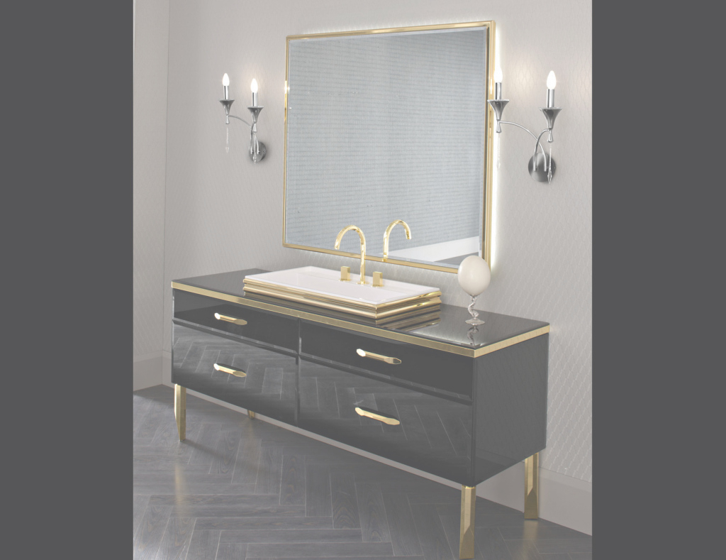 Cool Designer Italian Bathroom Vanity & Luxury Bathroom Vanities: Nella with Luxury Bathroom Vanity