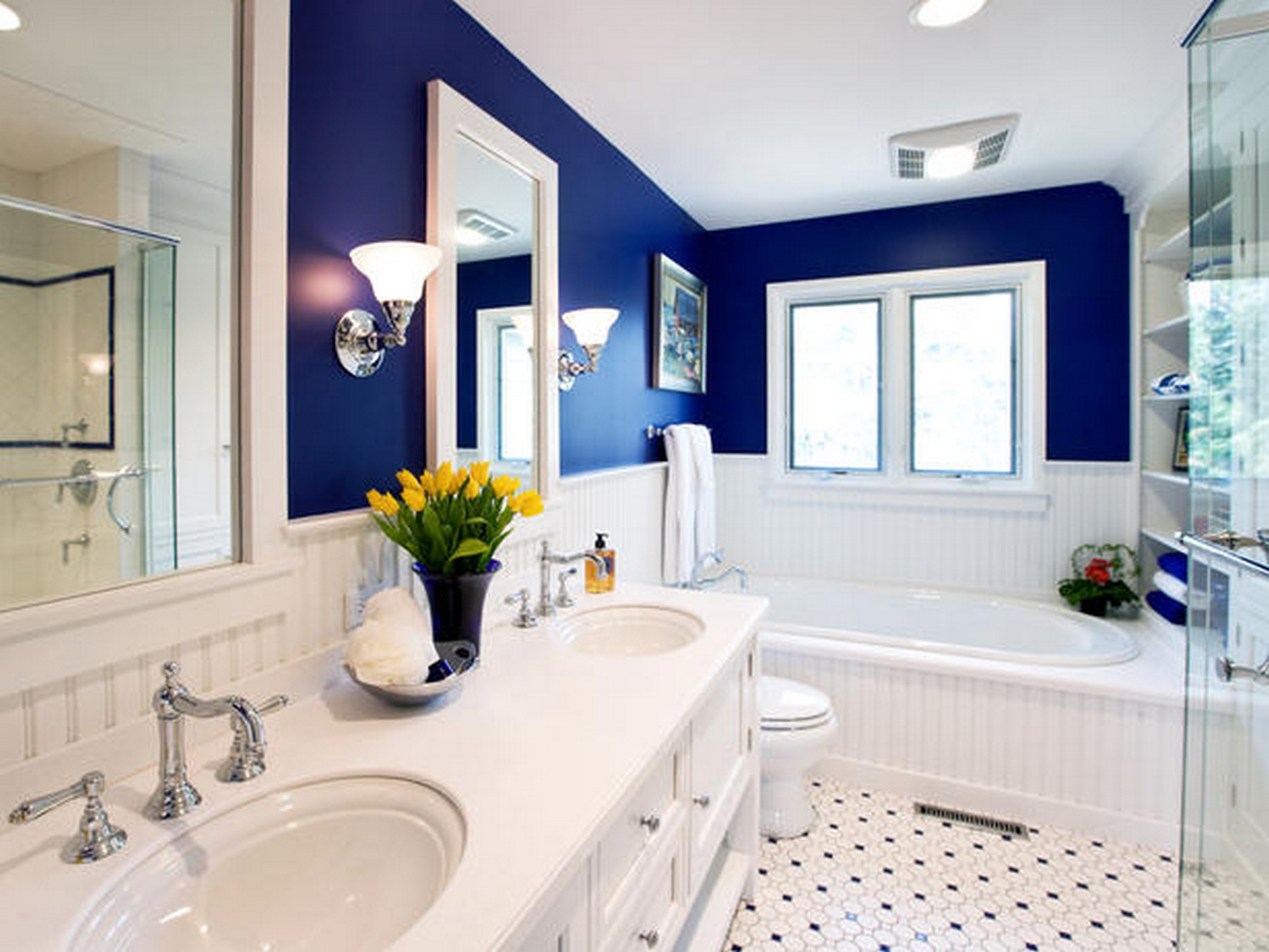 Cool Different Stunning Colors For Small Bathroom Ideas throughout Bathroom Ideas Colors