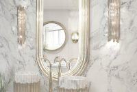 Cool Discover The Best Bathroom Mirrors Designedmaison Valentina within Good quality Brass Bathroom Mirror