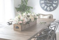 Cool Diy Faux Floral Arrangement: Feminine Yet Rustic Crate | Pinterest with regard to New Dining Room Ideas Pinterest